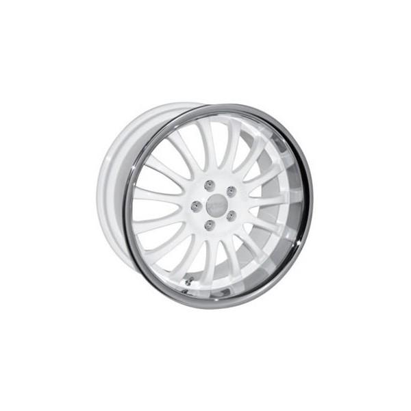 Team Dynamics Equinox white 8,5x20 inch velgenset wit