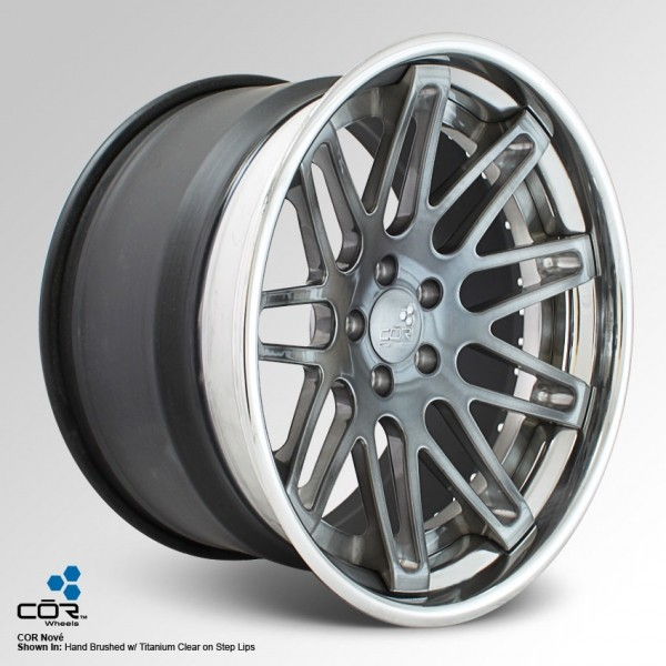 COR WHEELS Nove Super Concave 18x9.5J 5x100