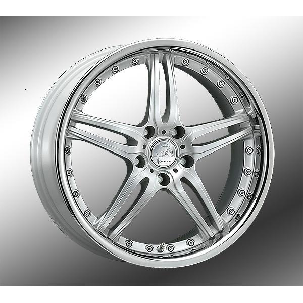 Hofele Design Prado Velgen 18 inch 9,5J Zilver