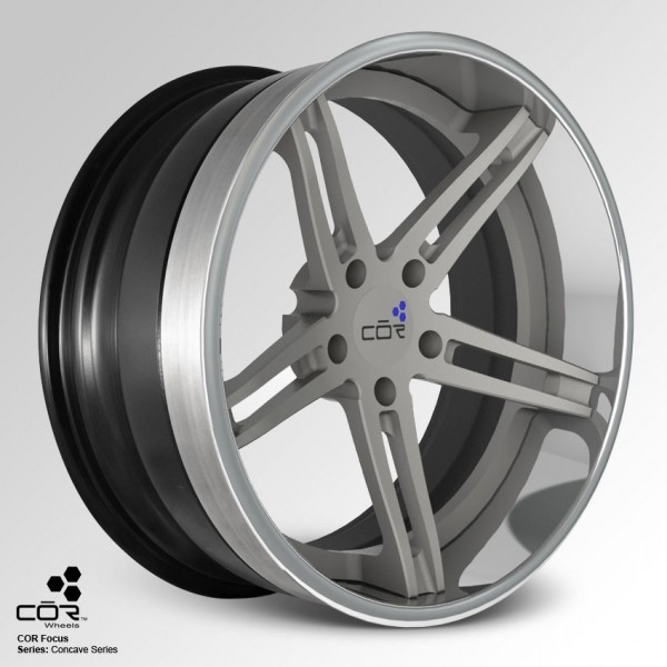 COR WHEELS Focus Super Concave 22x8.0J 5x100