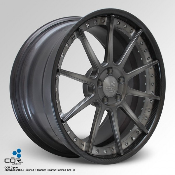 COR WHEELS Cipher Super Concave 22x10.5J 5x100