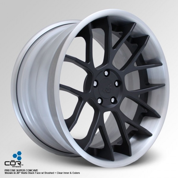 COR WHEELS Precise Super Concave 21x8.0J 5x100