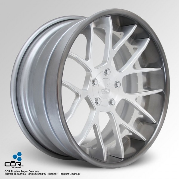 COR WHEELS Precise Super Concave 21x11.0J 5x100