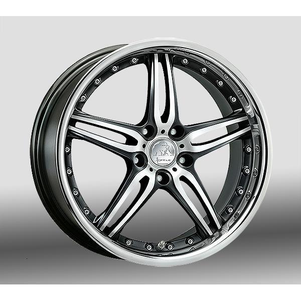 Hofele Design Prado Velgen 19 inch 9,5J Zwart gepolijst