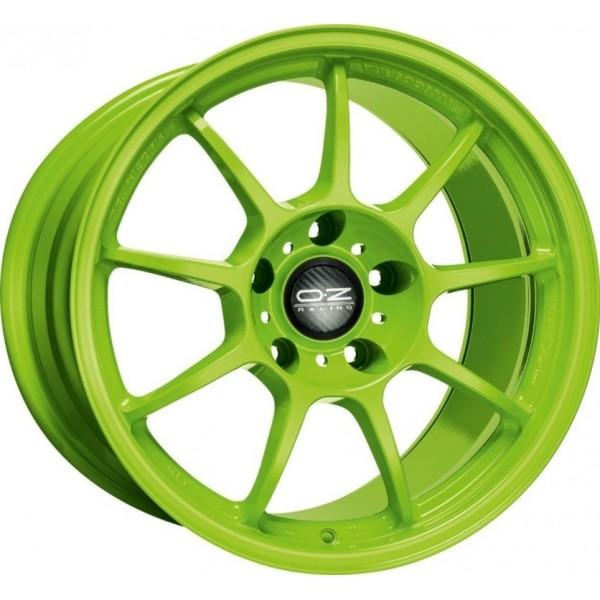Velgen OZ Alleggerita HLT acid green 7x17 inch 5x114,3 ET45
