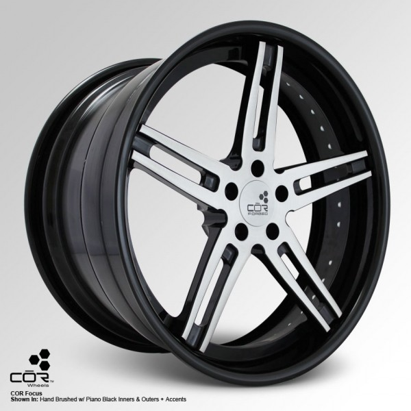 COR WHEELS Focus Concave 19x10.5J 5x100
