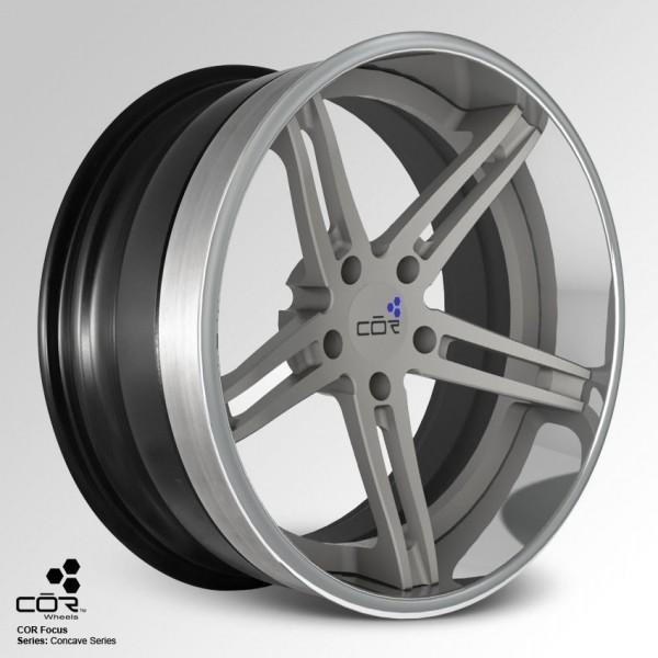 COR WHEELS Focus Super Concave 21x10.0J 5x100