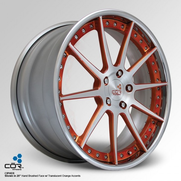COR WHEELS Cipher Super Concave 21x11.0J 5x100