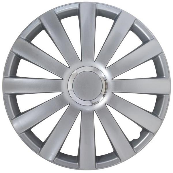 Wieldop Set Spyder 17'' Silver + Chrome ring