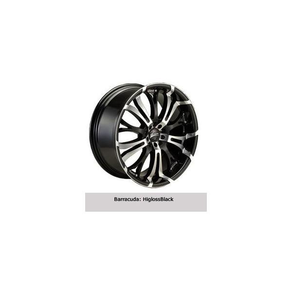 Barracuda Tzunamee velgen glans zwart 18x8.0 ET32