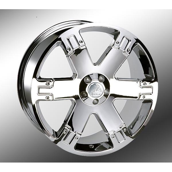 "Hofele-Design Titano Design Velgen 22"" Chroom"