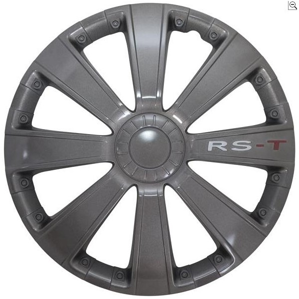 Wieldop Set RS-T Gun Metal 13''