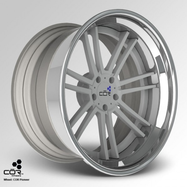 COR WHEELS Pioneer Concave 22x11.0J 5x100