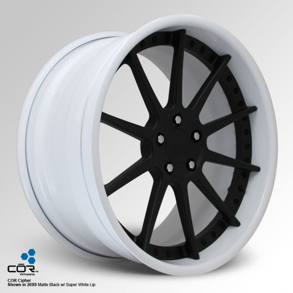 COR WHEELS Cipher Super Concave 22x11.0J 5x100