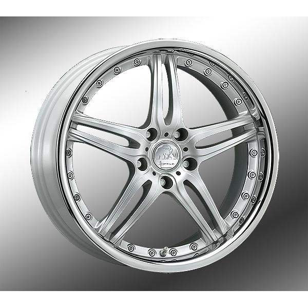 Hofele Design Prado Velgen 18 inch 8,5J Zilver