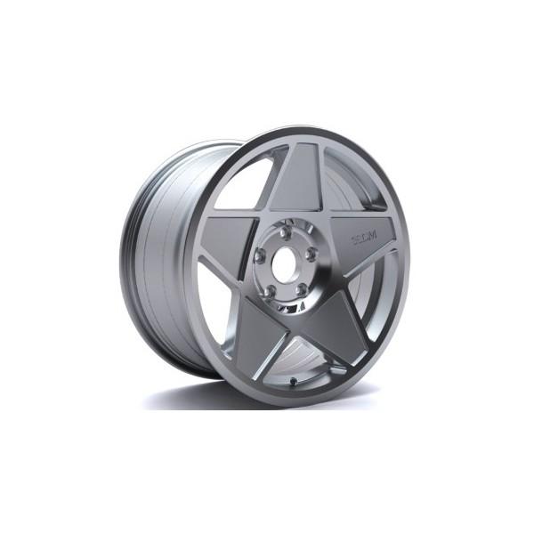 3SDM 0.05 4x100 8x16 et25 Zilver Pol 73.1 Velgen