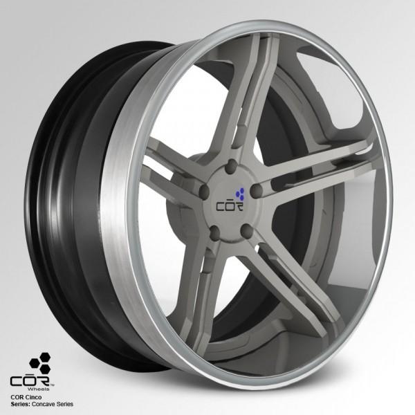 COR WHEELS Cinco Super Concave 21x11.0J 5x100
