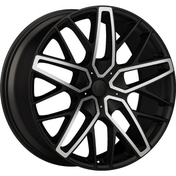 DeModa Concept Wheel 19X8.5 ET35 Vanquish Zwart/Machined
