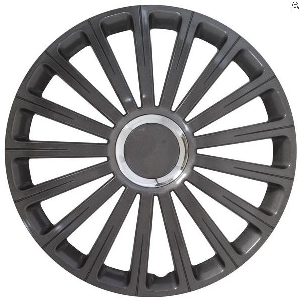 Wieldop Set Radical Gun Metal 14''