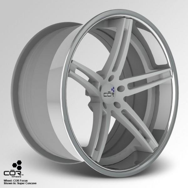 COR WHEELS Focus Concave 22x8.0J 5x100
