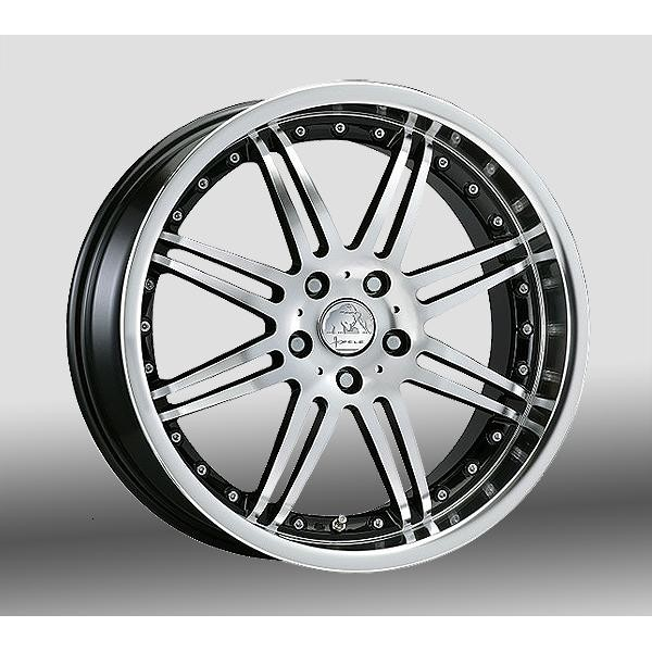 Hofele Design Spyder Velgen 19 inch 8J Zwart gepolijst