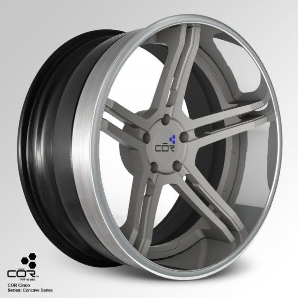 COR WHEELS Cinco Super Concave 21x10.0J 5x100
