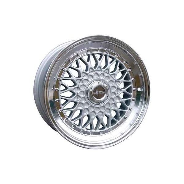 Lenso Wheels BSX 7x15 TUV 4x100 ET20 Velgen