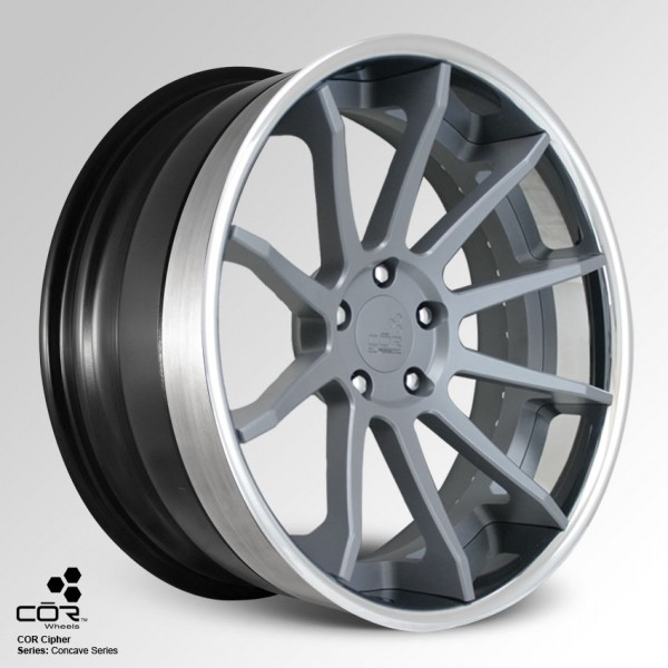 COR WHEELS Cipher Super Concave 21x10.0J 5x100