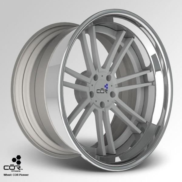 COR WHEELS Pioneer Concave 21x10.0J 5x100